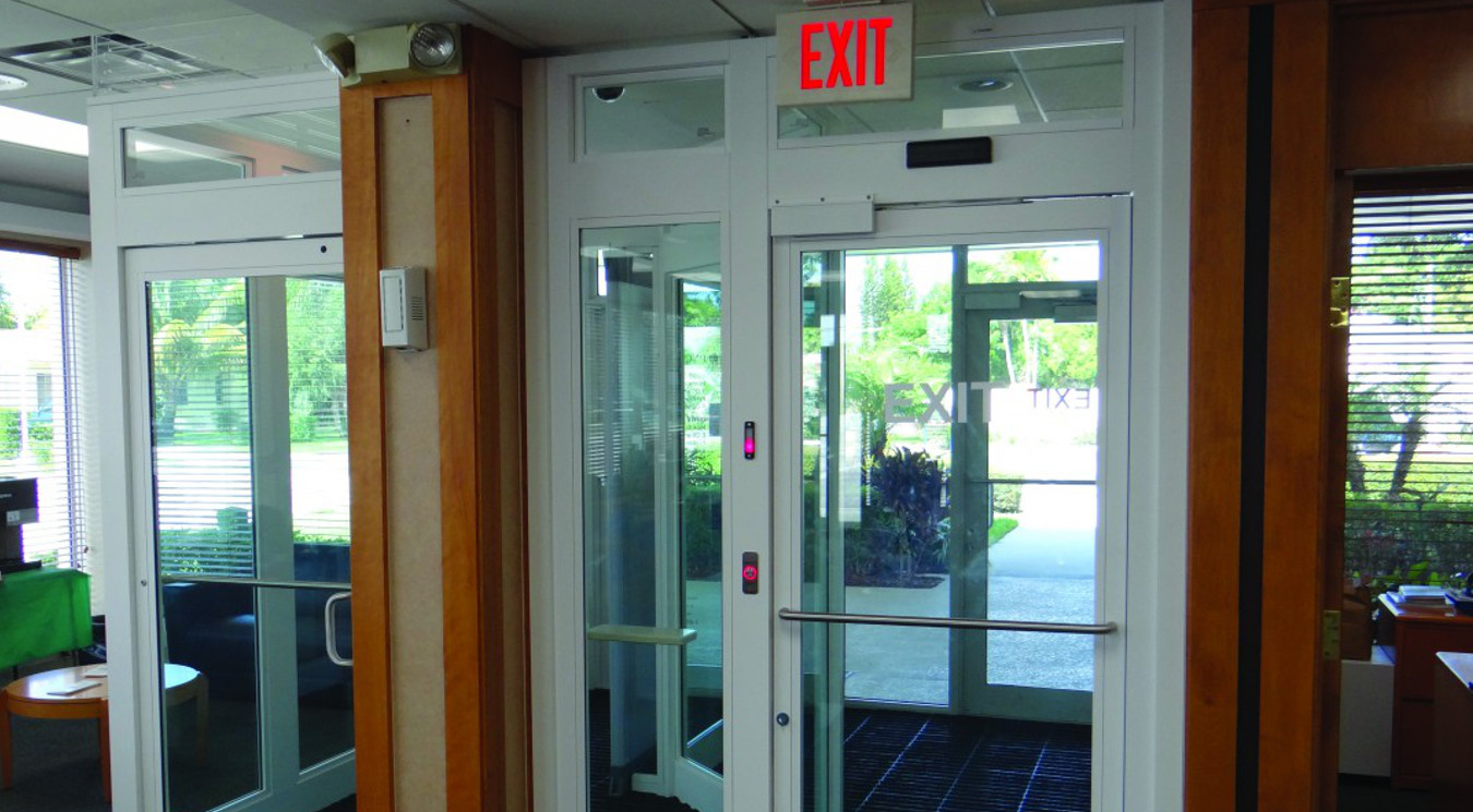 banner & Door Access Control Systems - Mantrap Security - Isotec