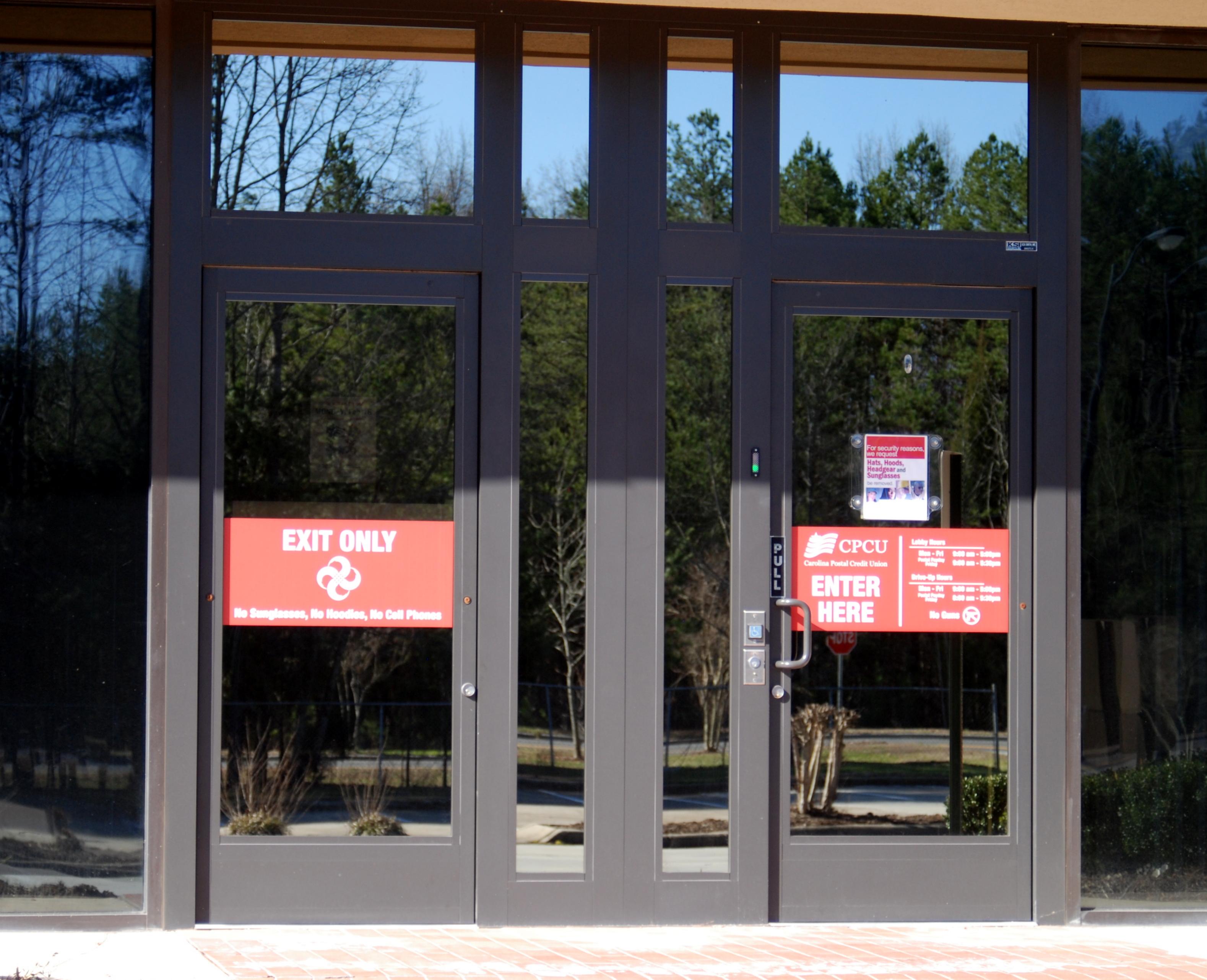 ADAAG Security Vestibule