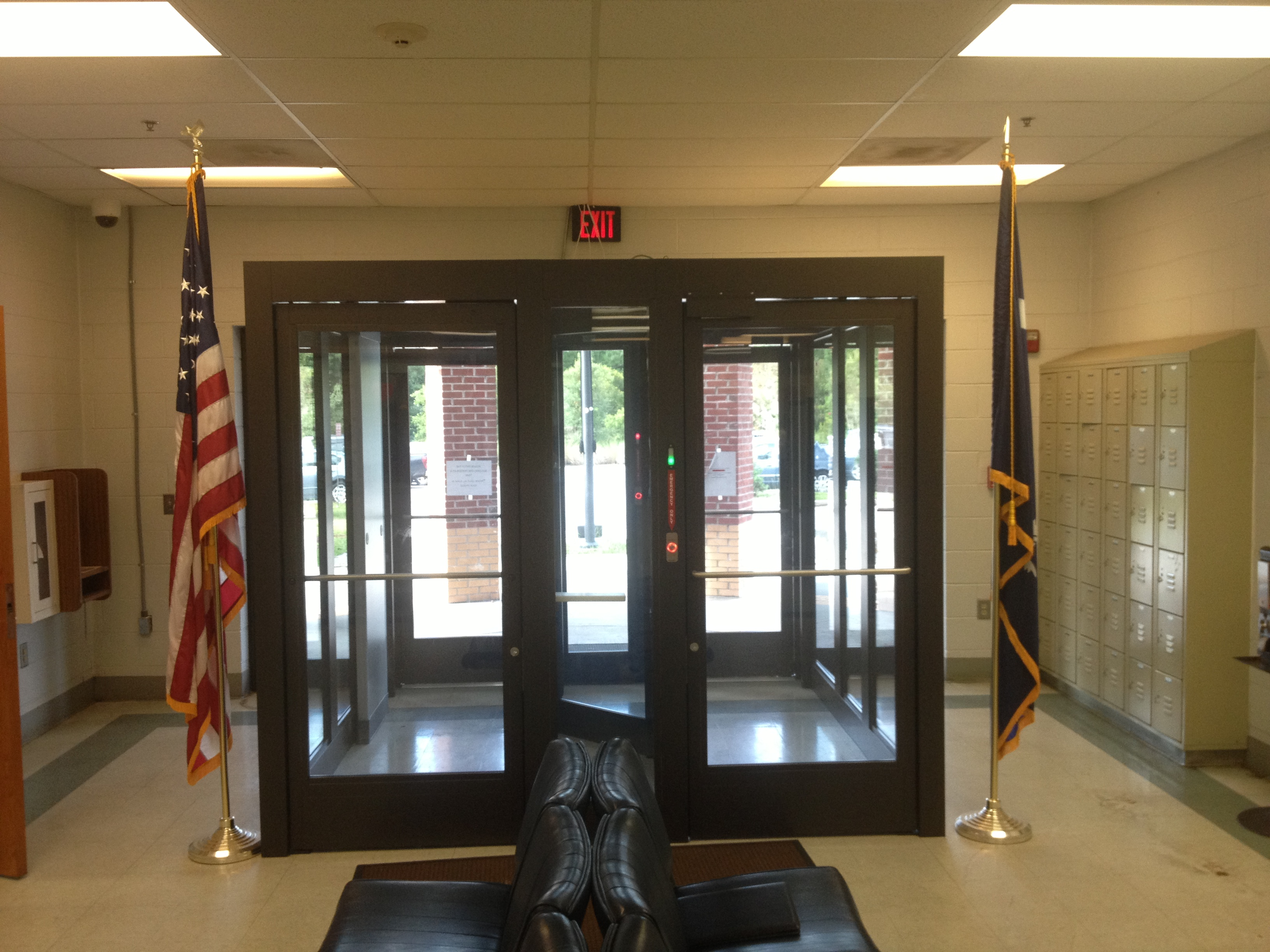Two Lane Security Vestibule - Sheriff's Station