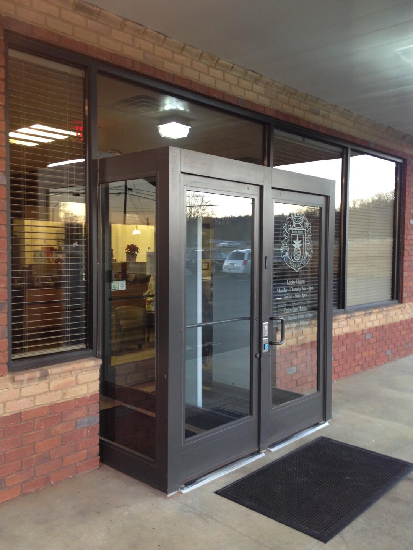 Security Vestibule Entrance