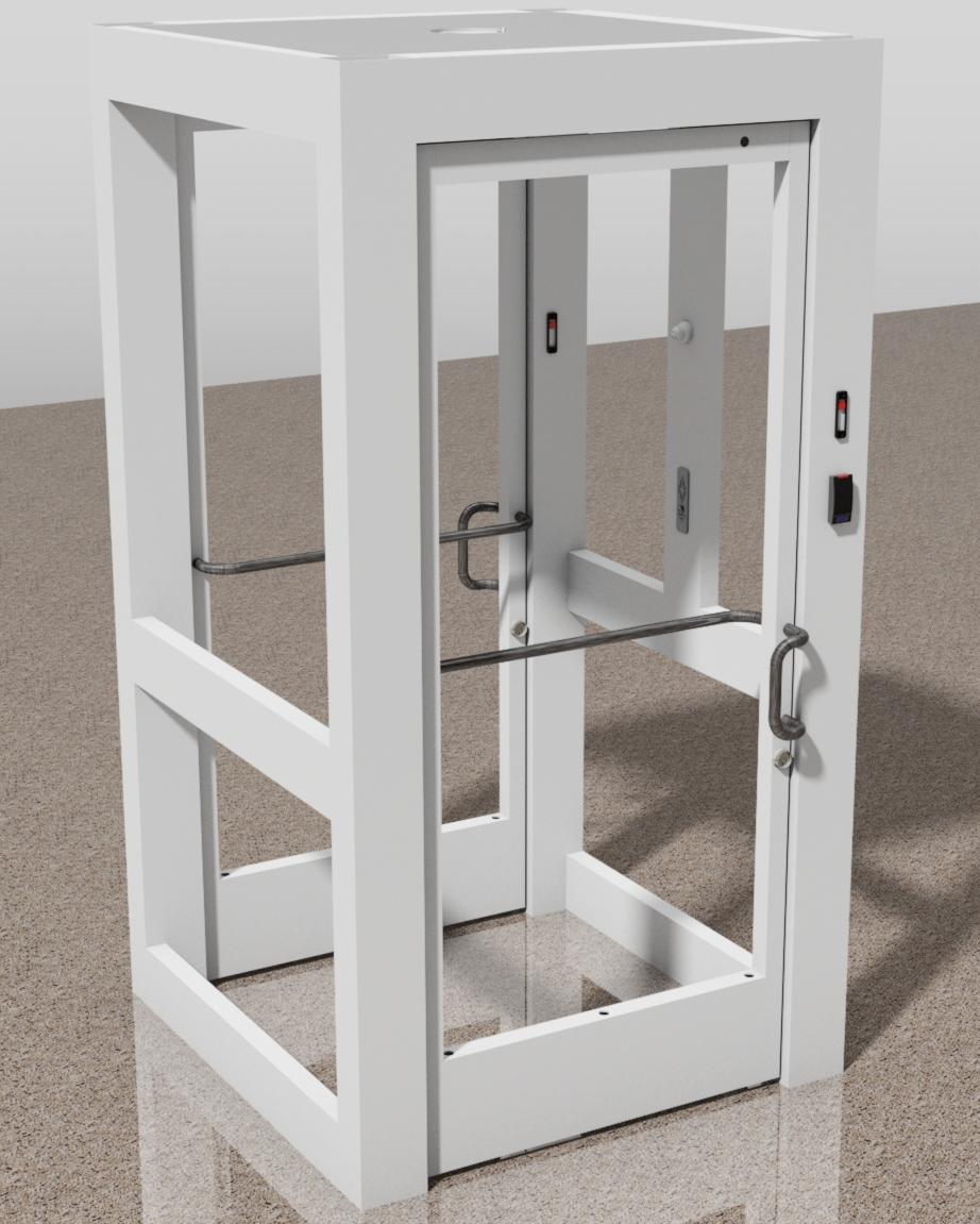 Access Control Entrance Mantrap