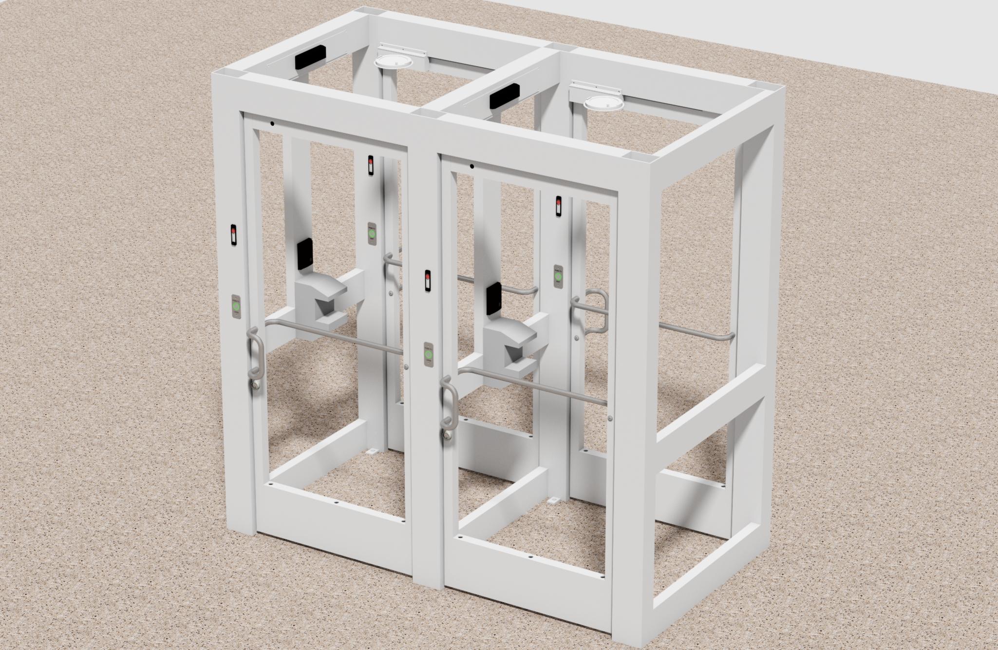 Model 4890D Access Control Entrance
