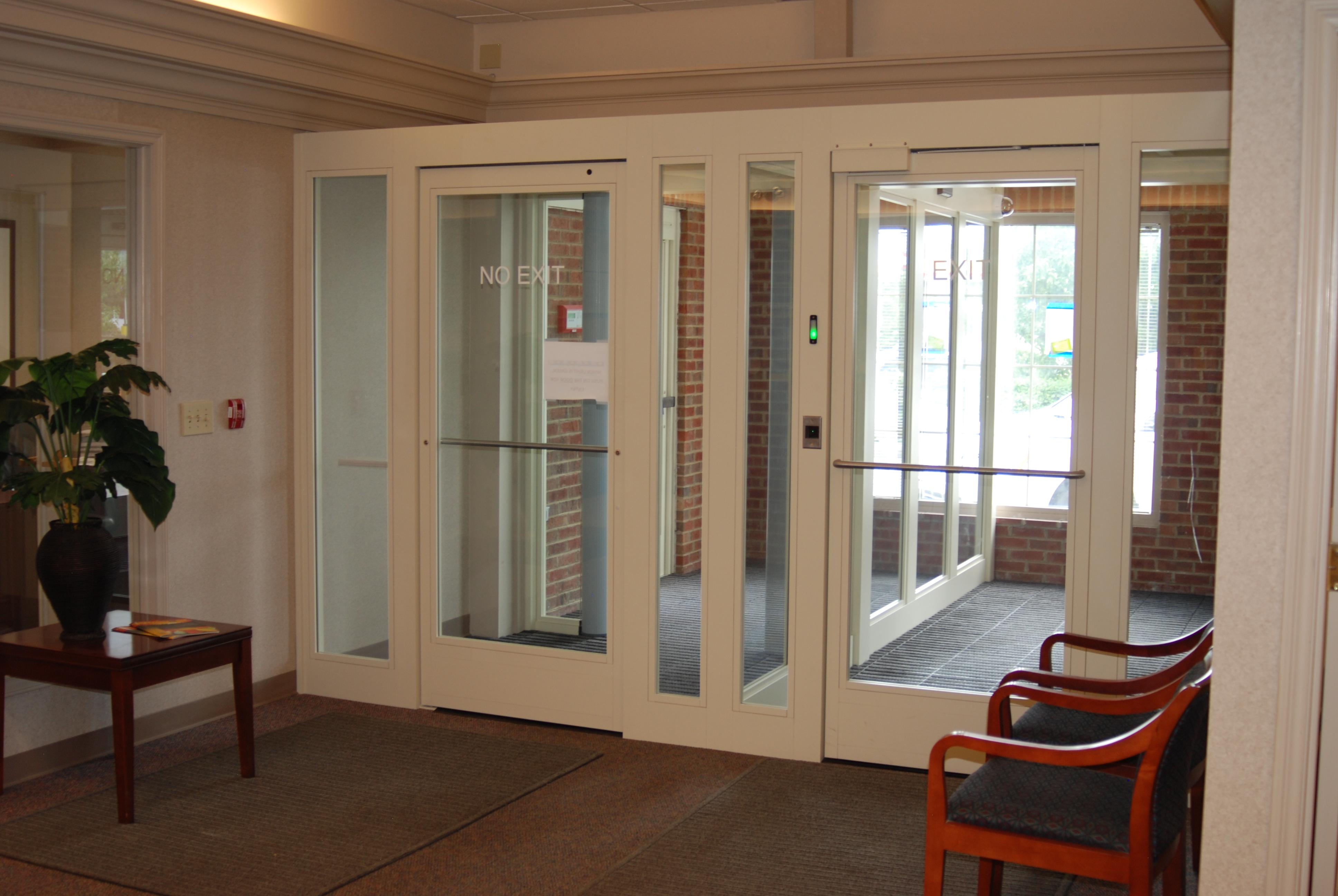 Mantrap Security Vestibule
