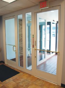 Commercial Security Door