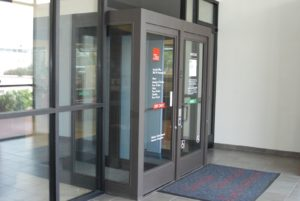 Credit Union doors