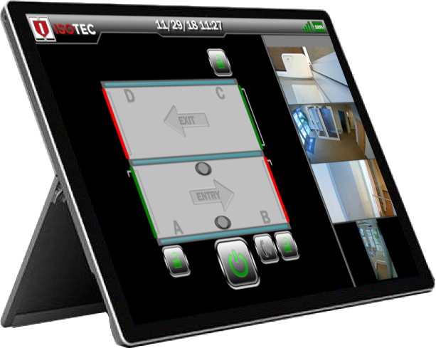 Access Control Electronics Tablet