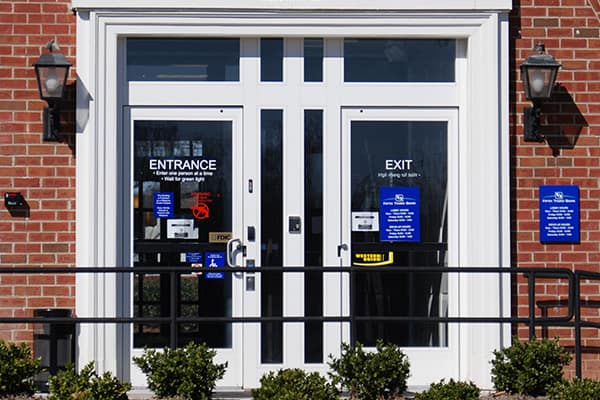 commercial security doors